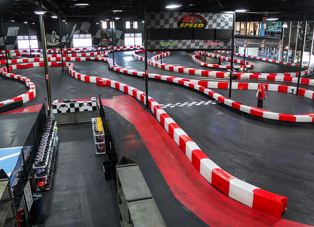 austin K1 Speed Gocart racing